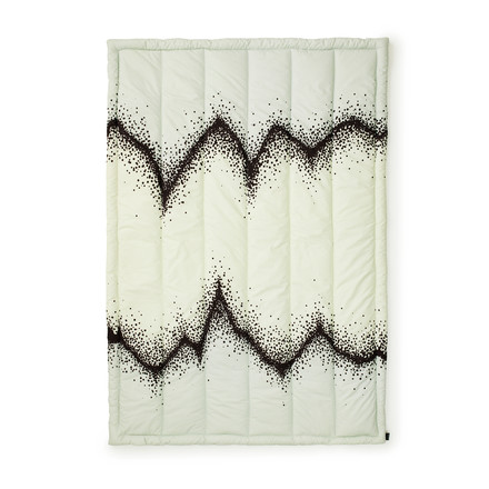 Normann Copenhagen - Sprinkle Bedspread, mint, single image