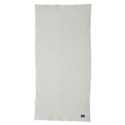 Ferm Living - Bath towel, light grey, 70x140