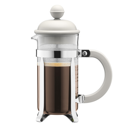 Bodum - Caffettiera 1 l, off white