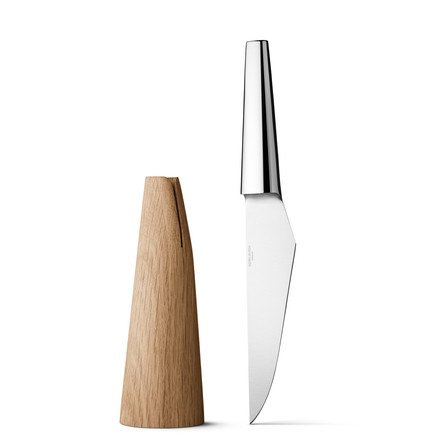 Georg Jensen - Barbry Chef's Knife - with knife block