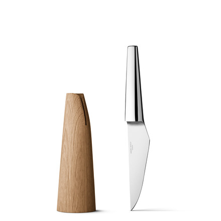 Georg Jensen - Barbry paring knife - beside knives block