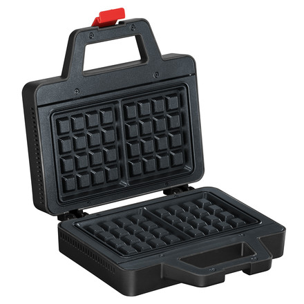 Bodum - Bistro waffle iron, black - open, single image