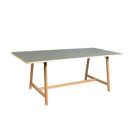 Hay - Frame Table, ash / grey