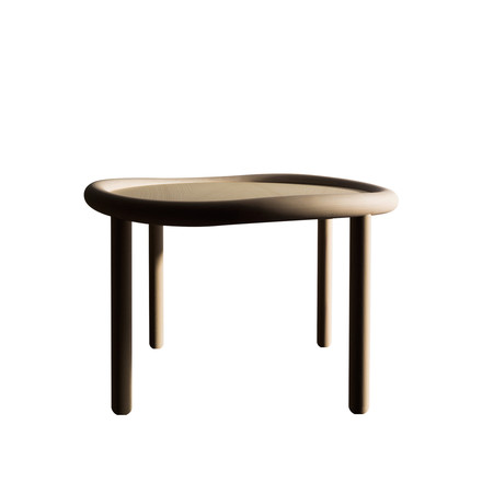 Hay - Serve Table, beech, 51cm
