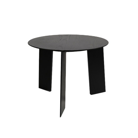 Hay - Elephant Table, black, Ø 50 cm