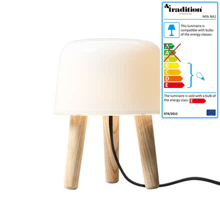 Milk table lamp by &tradition