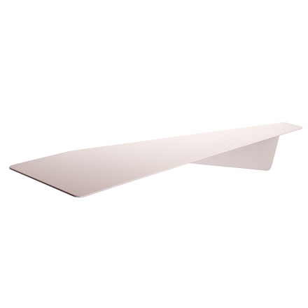 Pulpo - Maxi Knickding Shelf, traffic white (RAL 9016)