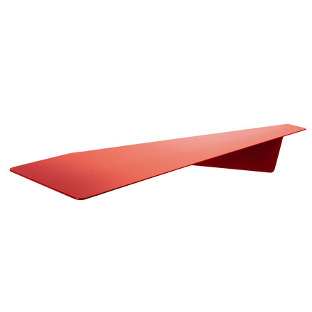 Pulpo - Maxi Knickding Shelf, signal red (RAL 3001)