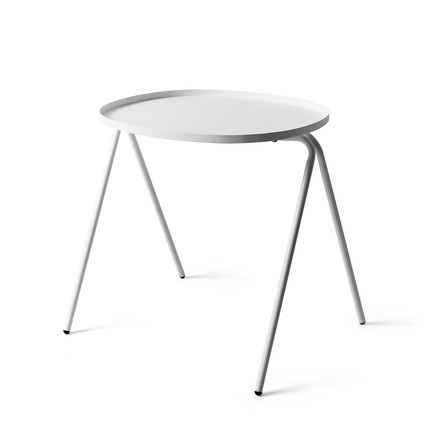 Menu - Afteroom Side Table, white - single image