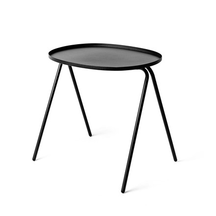 Menu - Afteroom Side Table, black - single image