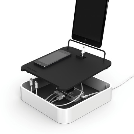 Bluelounge - Sanctuary4 USB charging station, white