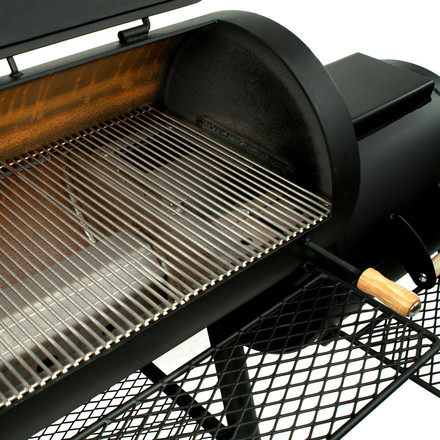 Joe´s Barbeque Smoker - heat balance system