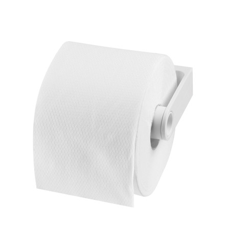 Authentics - Lunar WC-Toilet Paper Holder, white - with paper