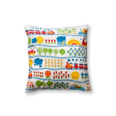 byGraziela - Pillow Case 40 x 40 cm, Train