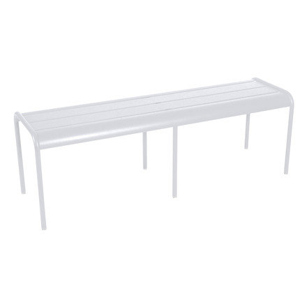 Fermob - Luxembourg Bench 3/4 places, white