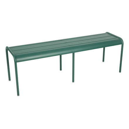 Fermob - Luxembourg Bench 3/4 places, Cedar Green