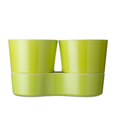 Rosti Mepal - Hydro Herb Pot Twin, lime