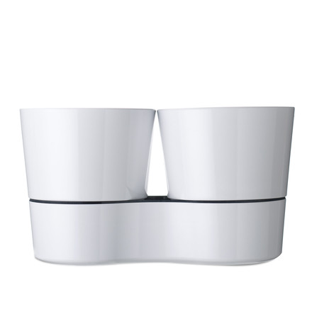 Rosti Mepal - Herb Pot Twin, white