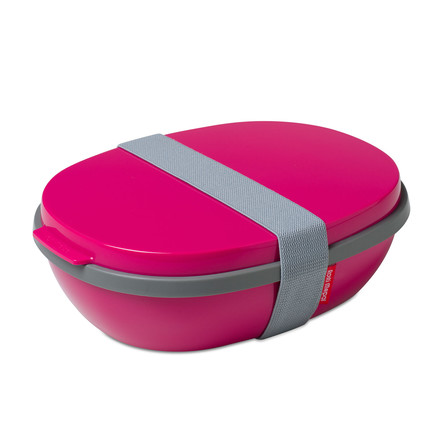 Rosti Mepal - Lunchbox To Go Elipse, Rubine Red