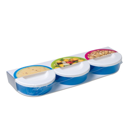 Rosti Mepal - Mini Box To Go 3 Pcs, aqua