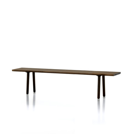 Vitra - Wood Bench, 200 x 41 cm, oak smoked solid