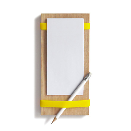Side by Side - Holder for Notepads, yellow