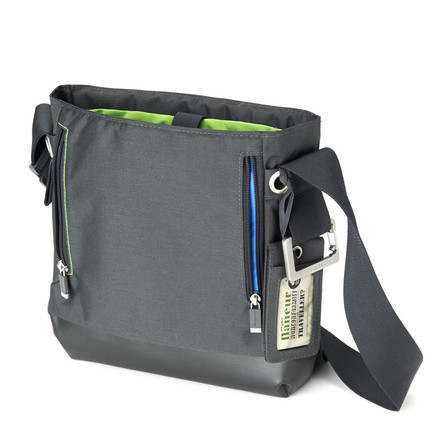 Moleskine - myCloud reporter's bag, paynes grey - open