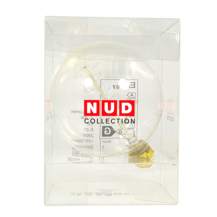 NUD Collection - Glühbirne Lightbulb Globe, 125 mm, E27, 40W