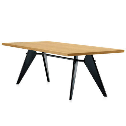 Vitra - Em Table, 240 cm, oak natural / black