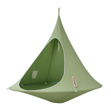 Cacoon - Double Hanging Chair, leaf green