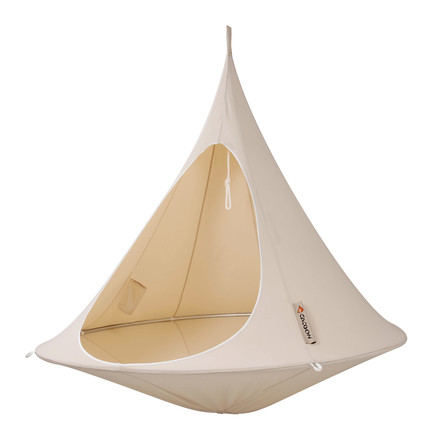 Cacoon - Double Hanging Chair, natural white