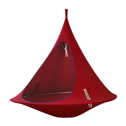 Cacoon - Double Hanging Chair, chili red