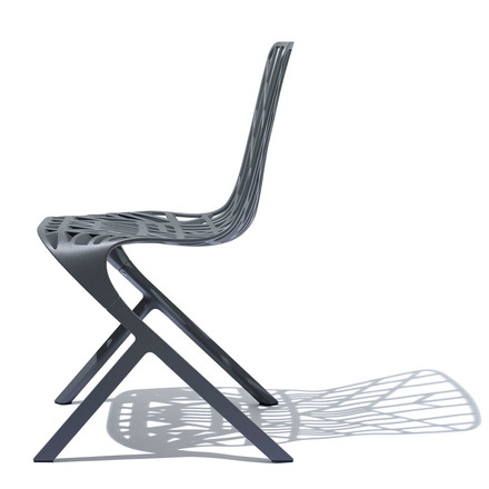 Knoll - Washington Skeleton Chair, Aluminium black