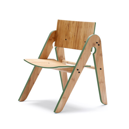 We do wood - Lilly's Chair, green