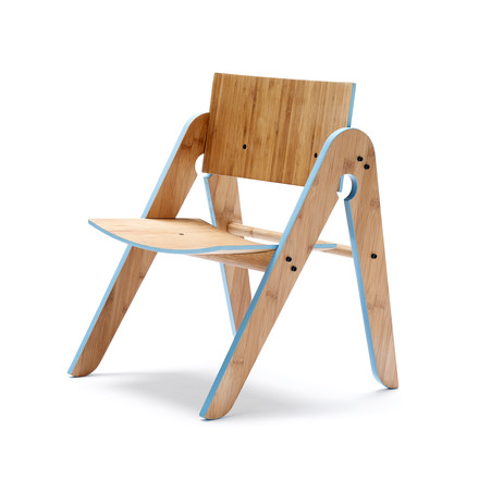 We do wood - Lilly's Chair, light blue