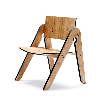 We do wood - Lilly's Chair, black