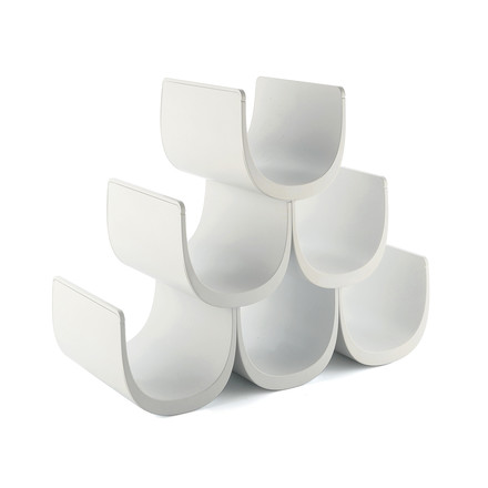 Alessi - Noè Modular bottle rack with modular system, white
