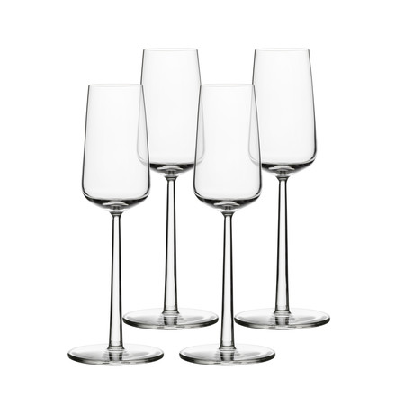 iittala - Essence Glass for Sparkling Wine 21 cl, Set of 4