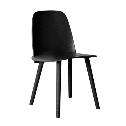 Muuto - Nerd Chair, black - single image