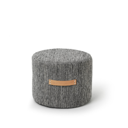 Design House Stockholm - Björk Stool H 35 Ø 45, dark grey