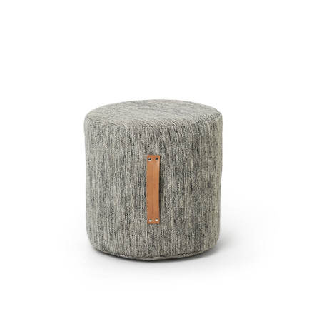 Design House Stockholm - Björk Stool H 45 Ø 45, light grey