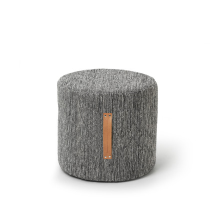 Design House Stockholm - Björk Stool H 45 Ø 45, dark grey