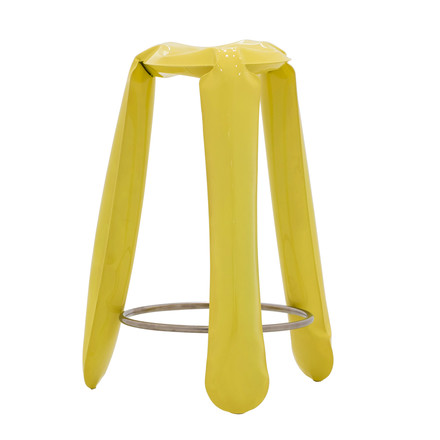 Zieta - Plopp bar stool, yellow