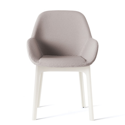 Kartell - Clap Chair, white / grey