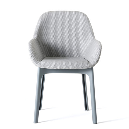 Kartell - Clap Chair, grey / grey