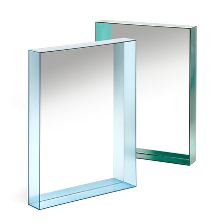 Kartell - Only Me Mirror, 50 x 70 cm, blue, green