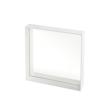 Kartell - Only Me Mirror, 50 x 50 cm, white