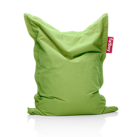 Fatboy - Junior Sitzsack Stonewashed, lime-green