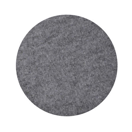 Hey sign - Felt pad Kartell Maui Chair, anthracite 5mm AR
