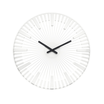 Koziol - Piano Wall Clock, white